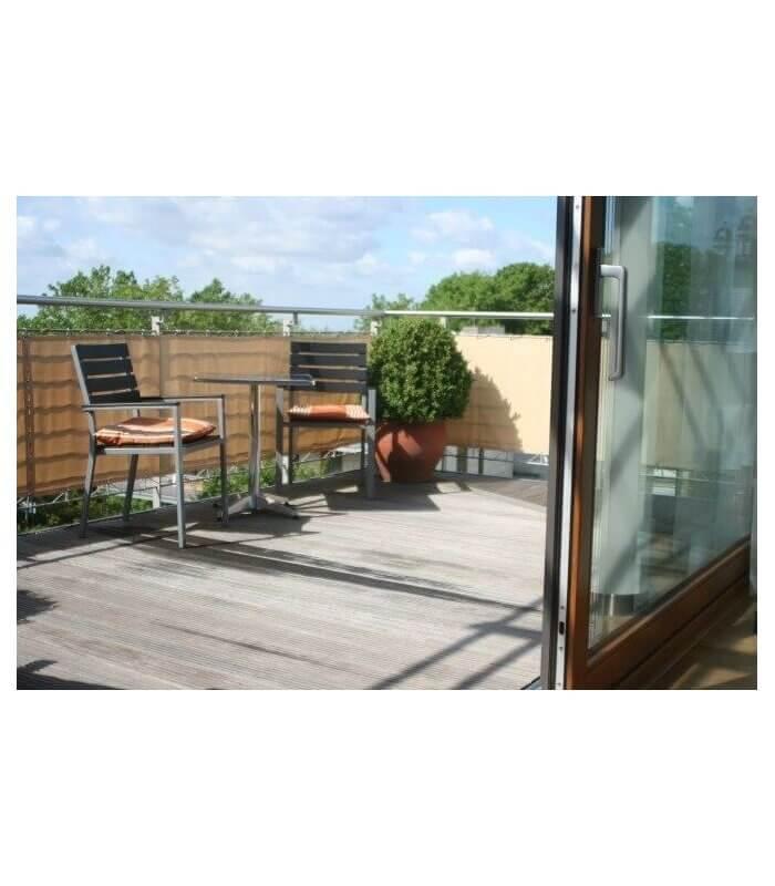 brise vent pour balcon. Black Bedroom Furniture Sets. Home Design Ideas