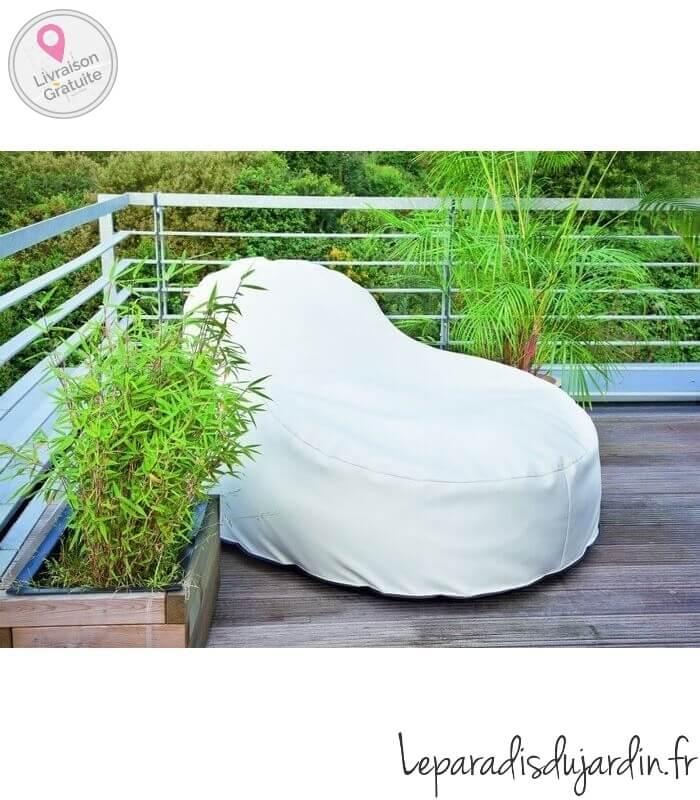 Pouf de plein air slope xl for Stores de bambou en plein air ikea