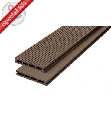 terrasse bois composite kit