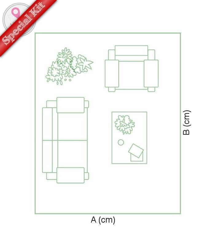 > Mobilier de Jardin > Terrasse > Kit Terrasse Composite Rectangle