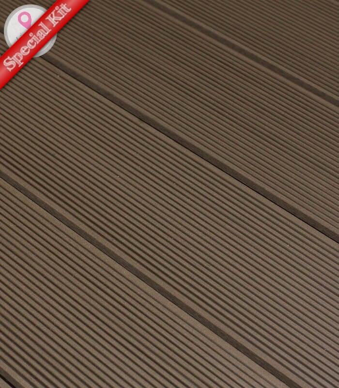 > Mobilier de Jardin > Terrasse > Kit Terrasse Composite pour Ch