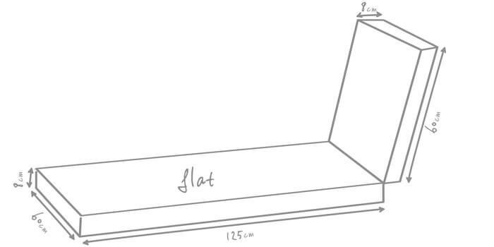 croquis dimension Topper Bench