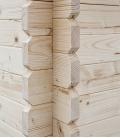 Abri de jardin en bois deux pans de 16m² (4m x 4m)