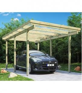 Single carport of 15 m² (3mx5m)