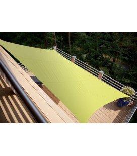 Voile 4.2 x3m Dns 200Gr couleur-vert anis