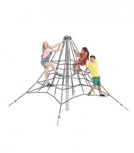 2m high rope pyramid