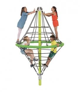 Construction de cordes à grimper Diamond de 2,9m de hauteur