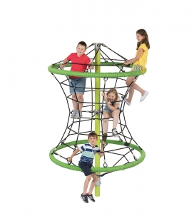 2.9m high Perry climbing ropes construction