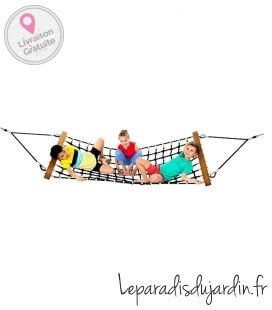 Hammock for children in armed rope