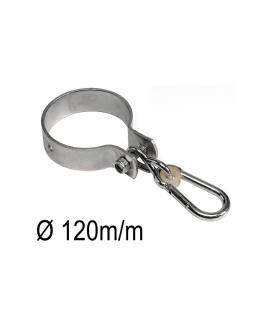 Round hook 'around' swing attachment 3mm Ø 120 mm