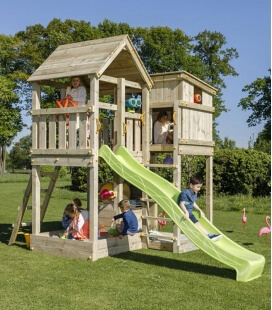 Palazzo playground with 290 cm slide