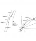 Spare parts pole - Parasol Icarus