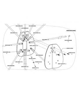 BALEINE spare parts - Parasol Icarus