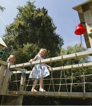 Module Bridge - pont à fixer entre deux tours pour aire de jeux