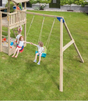 Module Swing - Double balançoire pour aire de jeux
