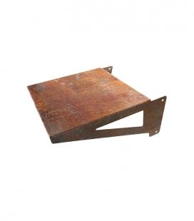 Side sheet metal shelf for Brasero Zelos