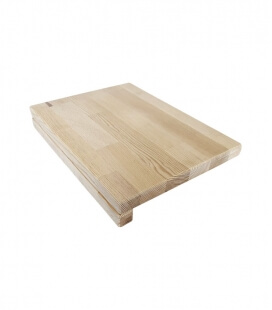 Plan de travail / assise en bois en pin Remundi
