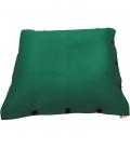 Pouf coussin géant 125 x 175 spécial piscine shelto fabrication française coloris vert menthe