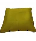 Pouf coussin géant 125 x 175 spécial piscine shelto fabrication française coloris vert anis