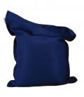 Pouf coussin géant 125 x 175 spécial piscine shelto fabrication française coloris bleu navy (marine)