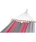 Hamac GRAPHIK large coloris rouge-gris-ecru Jobek 017187