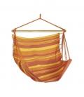 Chaise à pendre TRANKIL coloris Sunny par Jobek