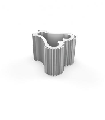 Charnière Duoflex pour paraflex pillier simple monoflex ou duoflex