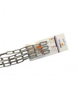 chaîne inox 4 mm x 2 mètres