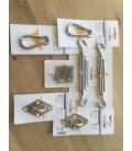 Kit de fixation de voile d'ombrage