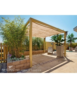 Store Pergola complet HDPE