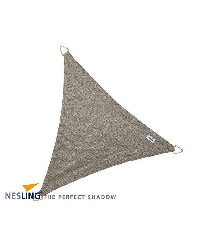 nesling Voile dombrage Triangulaire Coolfit cr/ème Porcelaine 4 x 4 x 5,7 m