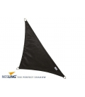 Shade sail black color 4x4x5,7m Density 285Gr Nesling Hdpe high sunscreen