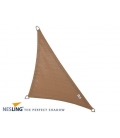 Shade sail color sand 4x4x5,7m Density 285Gr Nesling Hdpe high sunscreen