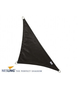 Shade sail 5x5x7,1m Dens 280Gr black photo