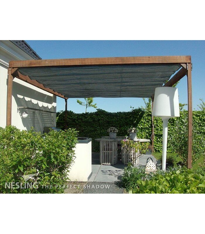 store pergola coulissant horizontal. Black Bedroom Furniture Sets. Home Design Ideas