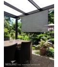Store vertical hdpe couleur veranda et pergola anthracite