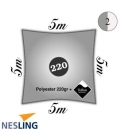 Sail 5m square nesling pro density 220Gr color