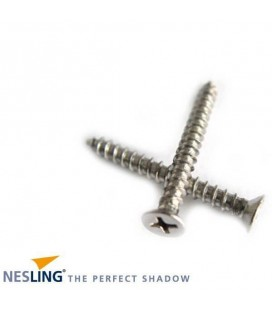 20 x stainless steel wood screws