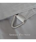 anneau inox epaisseur 8mm voile d'ombrage