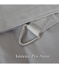 stainless steel ring pro thickness 8mm shade cloth