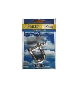 Shackle 4cm stainless steel image with packaging