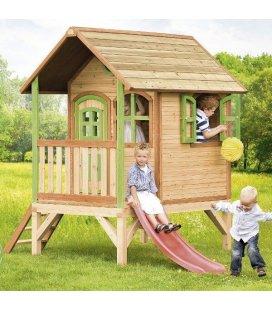 Jardin Cabane enfant Tom en bois tropical