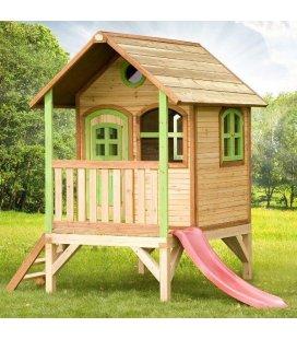 Cabane enfant bois exotique Tom 2,02m²