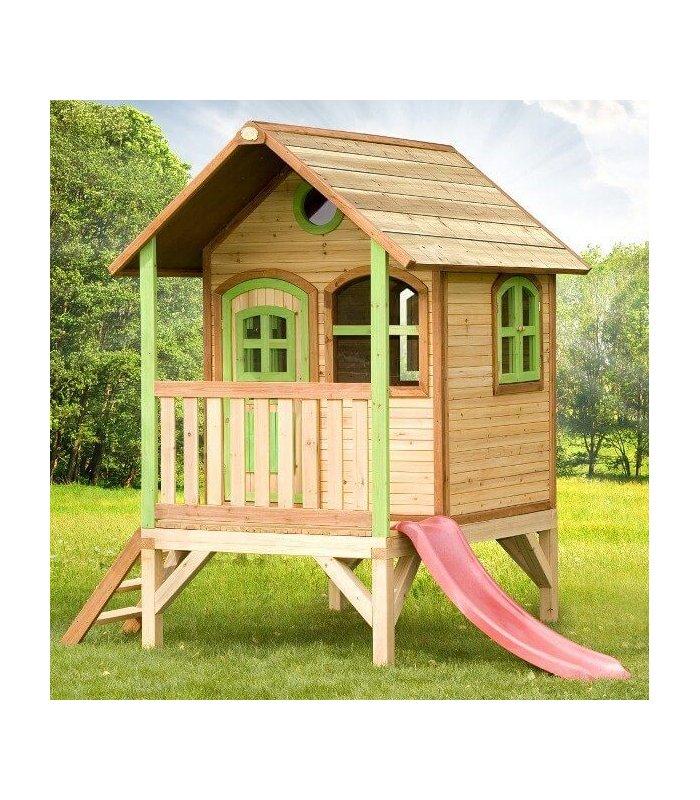 cabane enfant bois exotique tom 2 02m axi. Black Bedroom Furniture Sets. Home Design Ideas