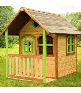 Jardin Maisonnette enfant Alex en bois tropical