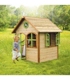 Jardin Cabane enfant Julia en bois tropical