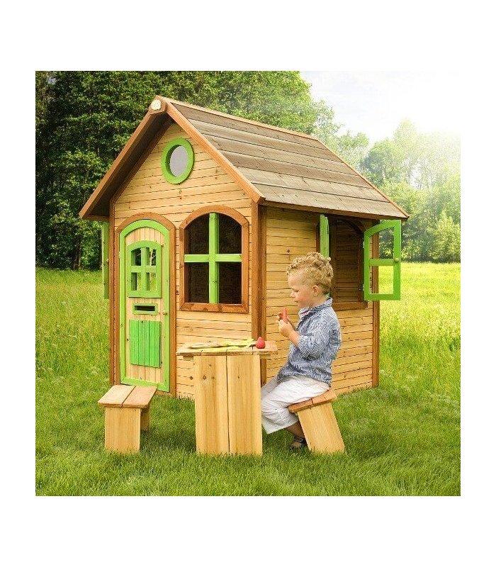 maisonnette en bois pour enfant julia. Black Bedroom Furniture Sets. Home Design Ideas