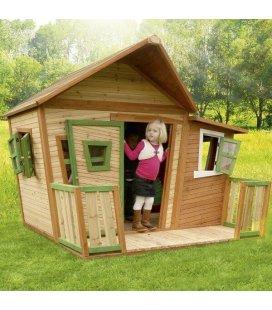 Jardin Cabane enfant Lisa en bois tropical