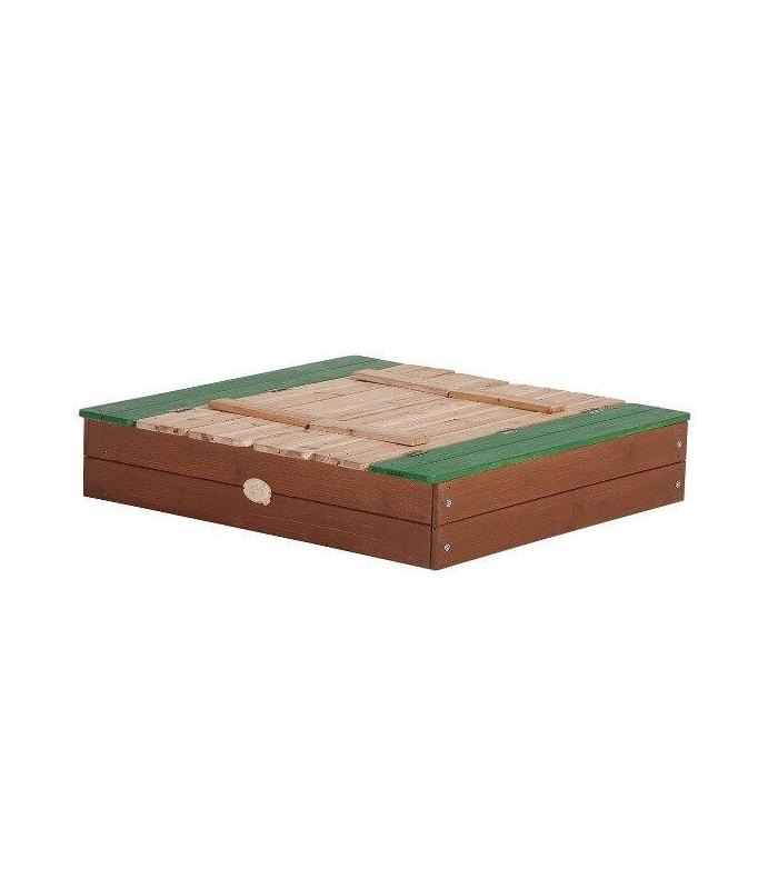 bac a sable a fermeture en bois non trait ella. Black Bedroom Furniture Sets. Home Design Ideas