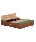 Sanbox with bench
